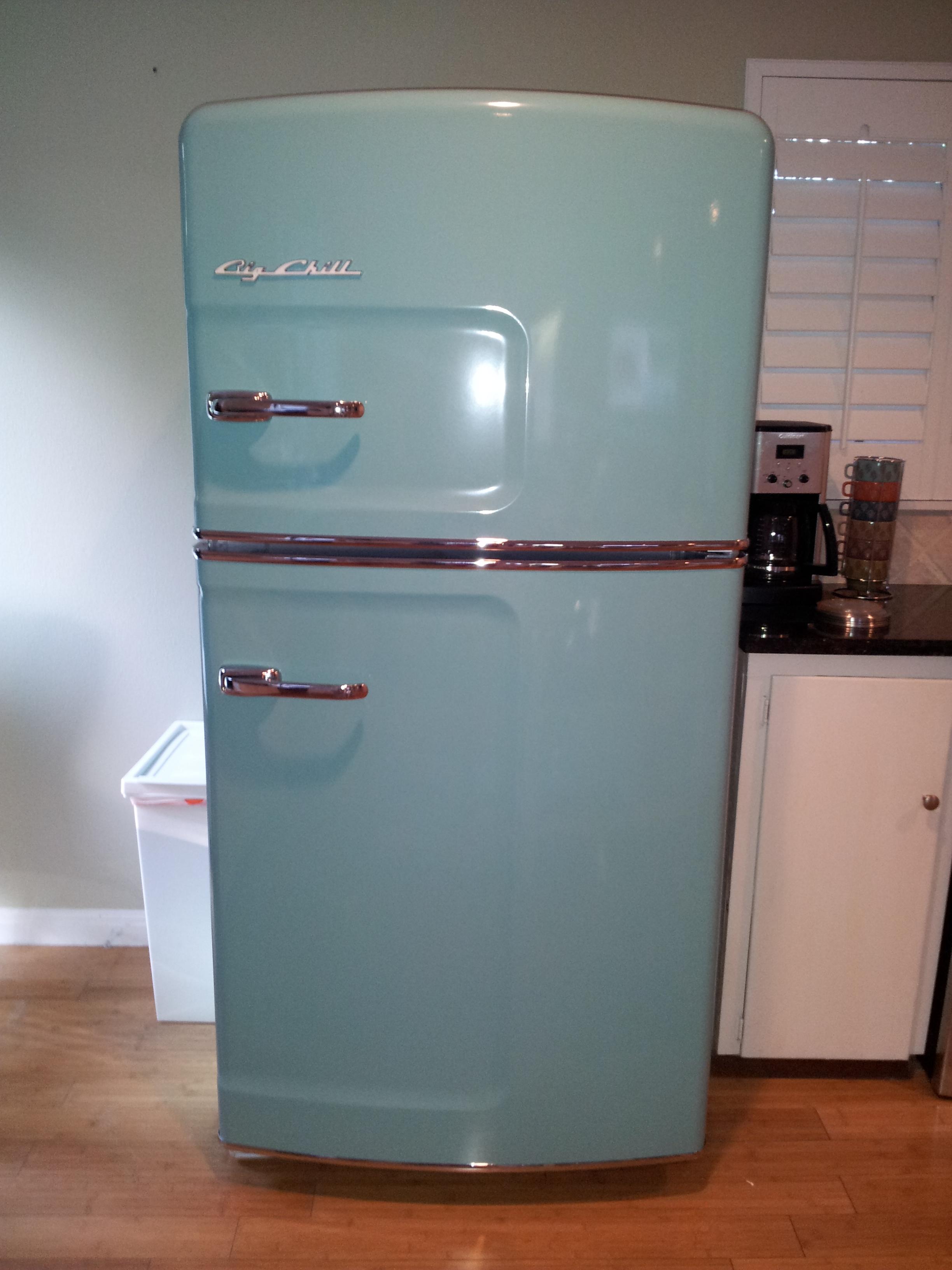 Casa soco kitchen and custom fridge